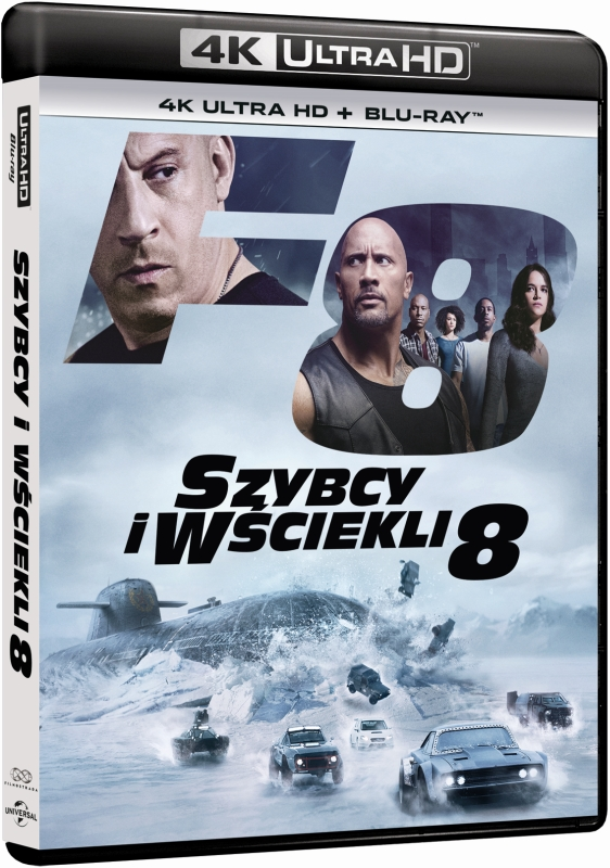 Szybcy i W¶ciekli 8 - The Fate of the Furious (2017) - Film 4K Ultra-HD