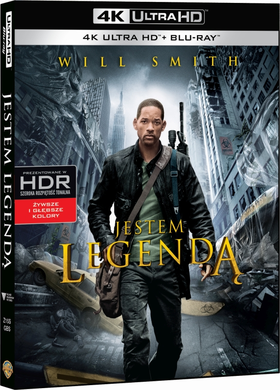 Jestem Legend± - I Am Legend (2007) - Film 4K Ultra-HD