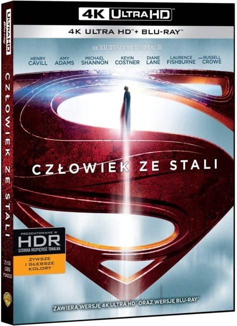 Cz³owiek ze Stali - Man of Steel (2013) - Film 4K Ultra-HD