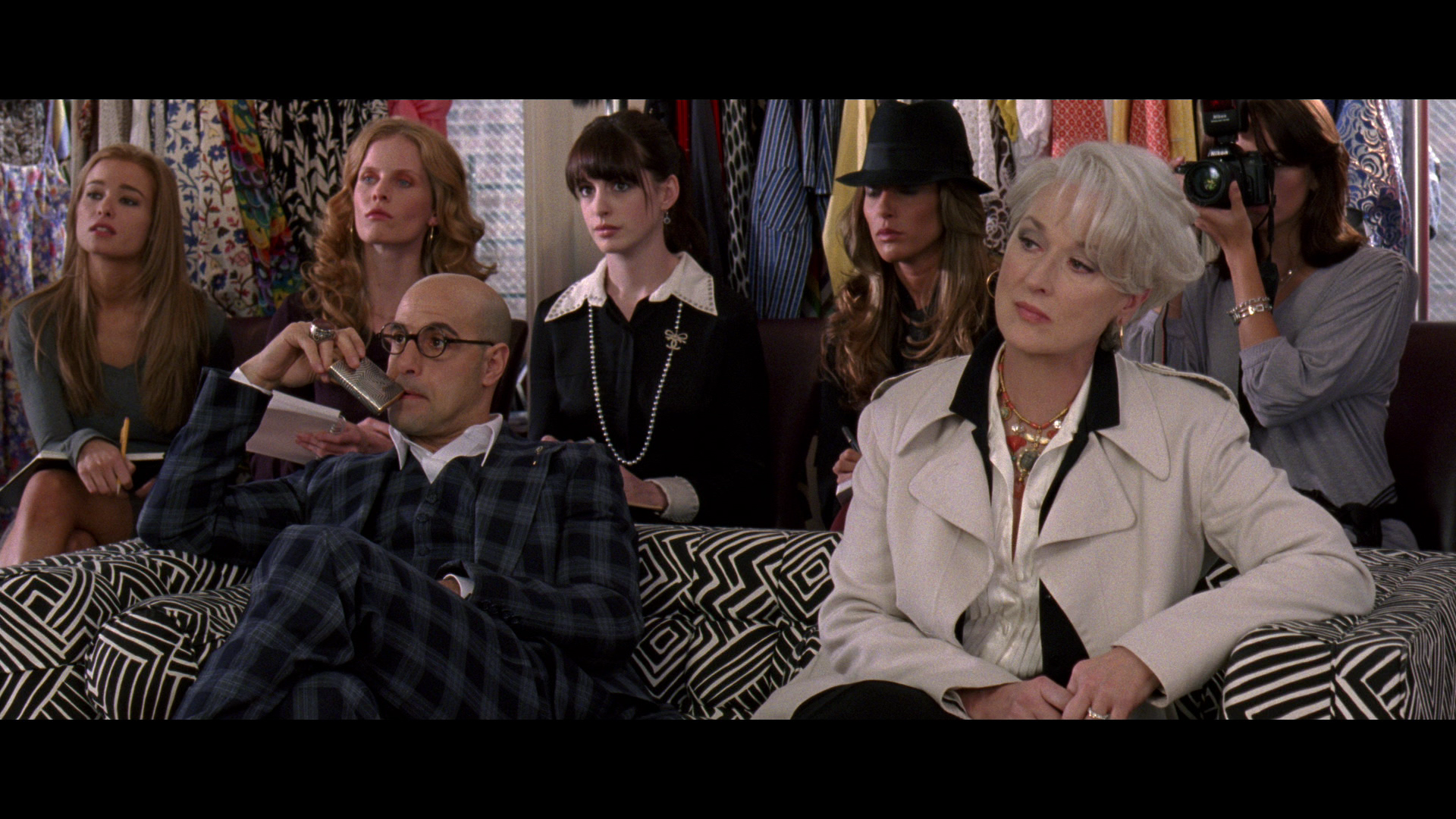 devil wears prada essay A decade has passed, and lauren weisberger still hasn't learned how to write revenge wears prada: the devil returns suffers from the same problem that plagued the devil wears prada in 2003 great characters are undermined by barely serviceable prose.