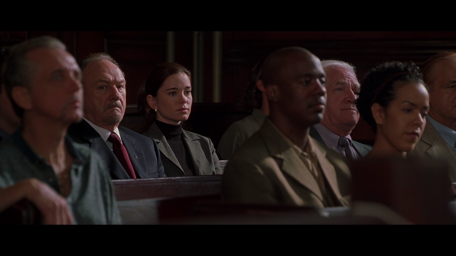 runaway jury Loosely based on the john grisham best-seller, runaway jury wavers between courtroom thriller and message drama buoyed by a flamboyant performance from gene hackman, the film works best as an example of prime star power.